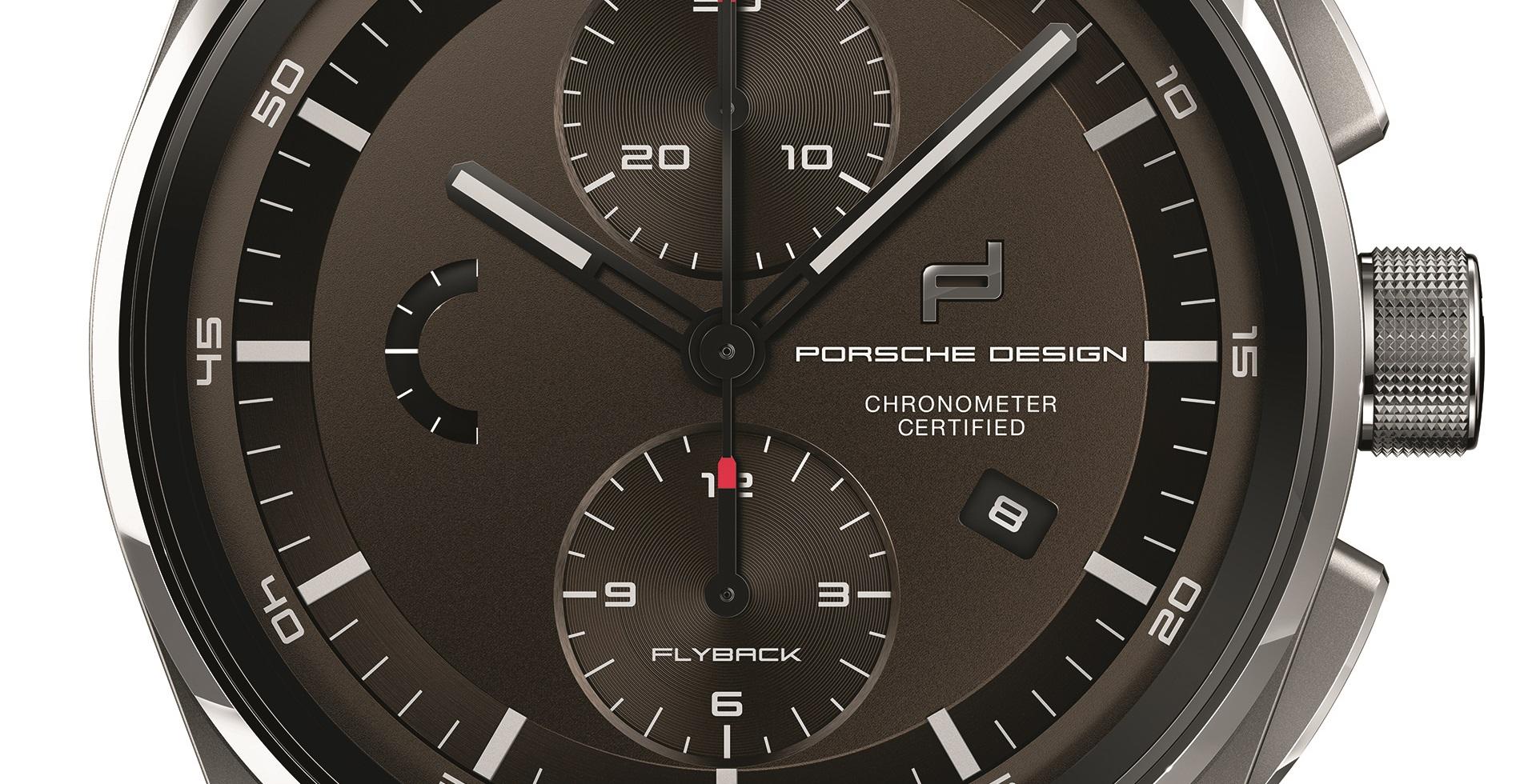 Die Farbgebung in einem tiefen Braunton verleiht dem 1919 Chronotimer  Flyback Brown   Leather eine betont ... 65864339b79